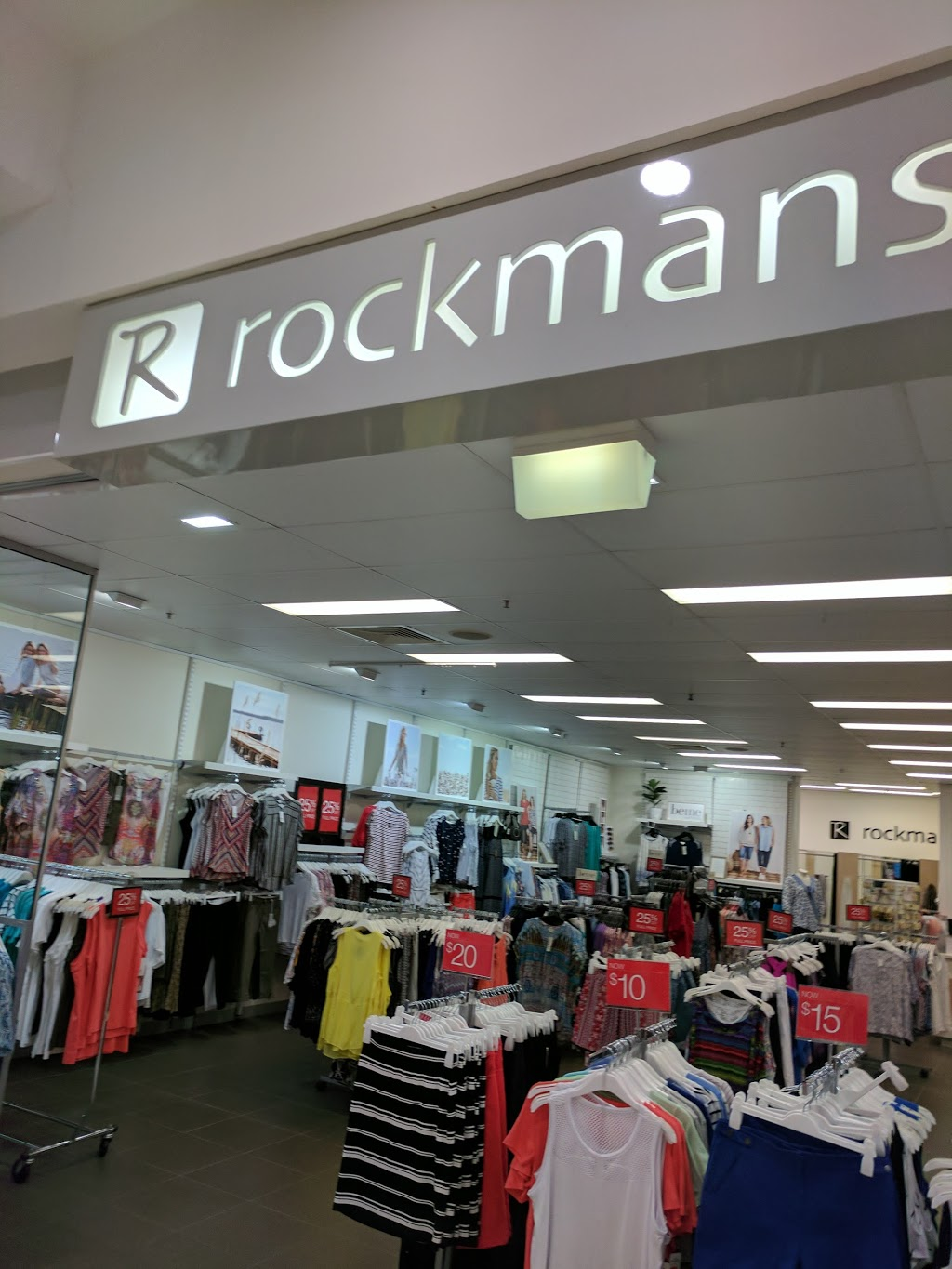 Rockmans | clothing store | Shop 27 Castletown Shopping Centre, Corner Kings Road & Woolcock Street, Hyde Park QLD 4812, Australia | 0747212446 OR +61 7 4721 2446