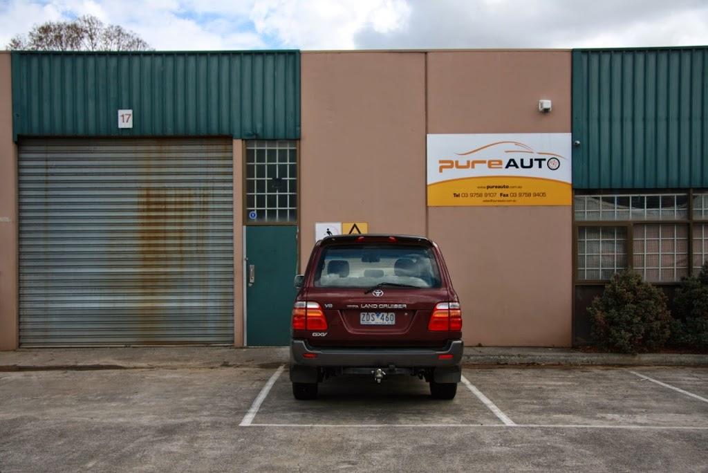 PureAuto | car repair | 17/40 Edina Rd, Ferntree Gully VIC 3156, Australia | 0397589107 OR +61 3 9758 9107