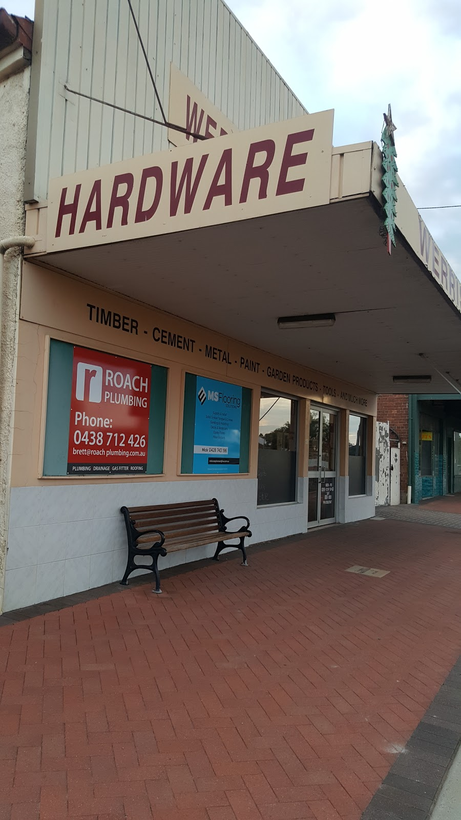 Werris Creek Hardware | hardware store | 41-42 Single St, Werris Creek NSW 2341, Australia | 0267687047 OR +61 2 6768 7047