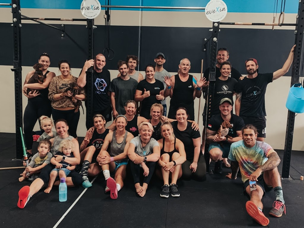 CrossFit Evexia & Therapies | gym | 2/2 Nuban St, Currumbin Waters QLD 4223, Australia | 0438061737 OR +61 438 061 737