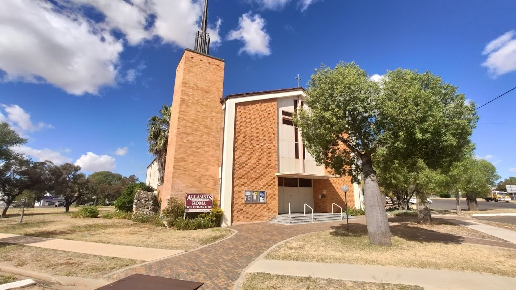 All Saints' Church   church   Roma QLD 4455, Australia   0746221075 OR +61 7 4622 1075