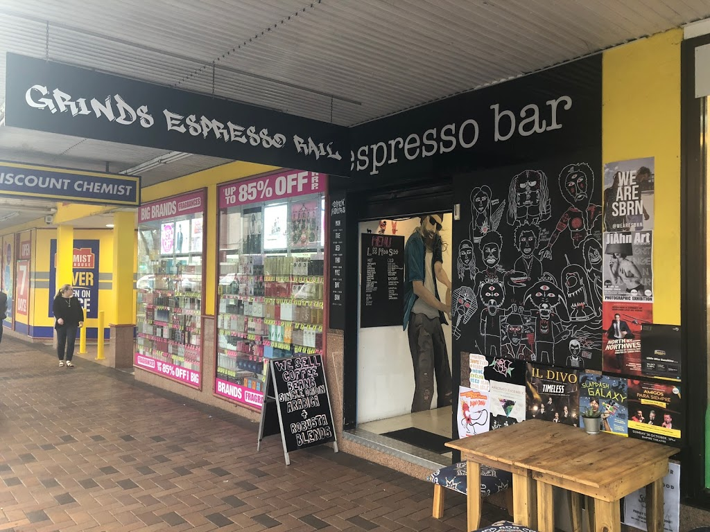 Grinds espresso rail | cafe | 2/255 margeret st, Toowoomba City QLD 4350, Australia