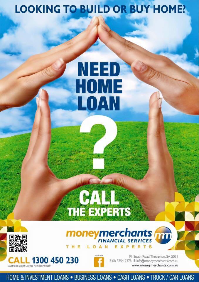 Money Merchants Financial Services | lawyer | 91 South Rd, Thebarton SA 5031, Australia | 1300450230 OR +61 1300 450 230