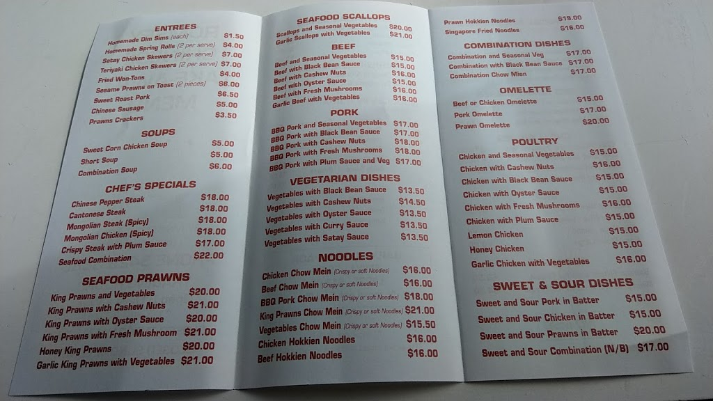 Romsey Chinese Take-Away | restaurant | 97 Main Street, Romsey, Melbourne VIC 3434, Australia | 0354293883 OR +61 3 5429 3883