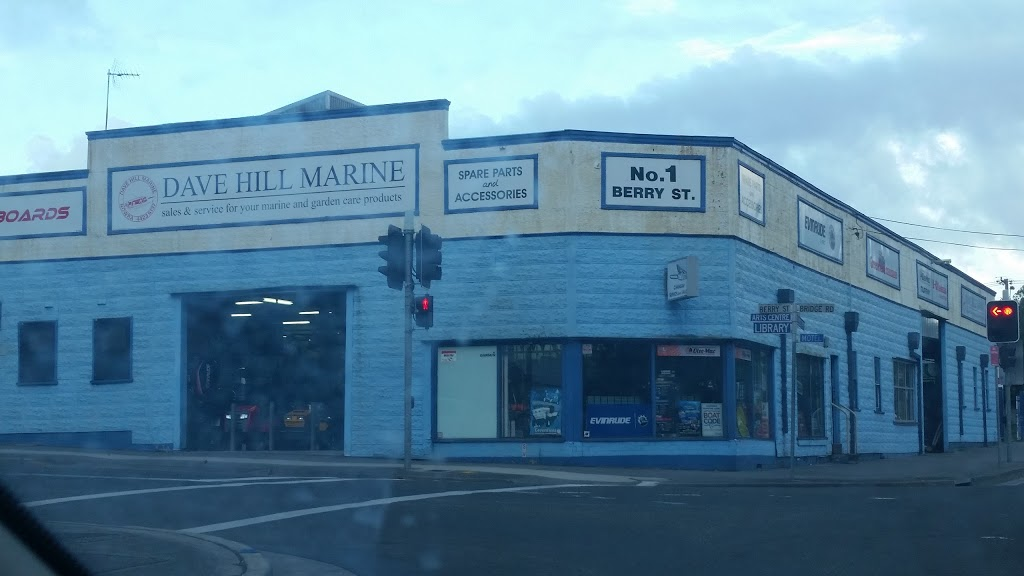 Dave Hill Marine | store | 1 Berry St, Nowra NSW 2541, Australia | 0244236137 OR +61 2 4423 6137