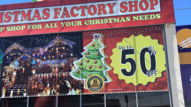 The Christmas Factory Shop | store | 5/545 Princes Hwy, Kirrawee NSW 2232, Australia | 0482035834 OR +61 482 035 834