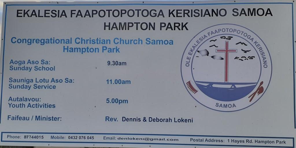 EFKS Hampton Park | church | 1 Hayes Rd, Hampton Park VIC 3976, Australia | 0432076045 OR +61 432 076 045