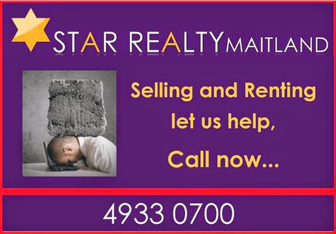 Star Realty Maitland | real estate agency | 89 High St, Maitland NSW 2320, Australia | 0249330700 OR +61 2 4933 0700