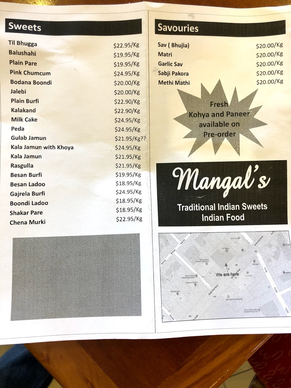 Mangal Sweets | meal takeaway | 10/257 North East Road, Hampstead Gardens SA 5086, Australia | 0420509442 OR +61 420 509 442