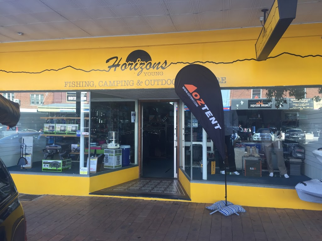 Horizons - Young Fishing, Camping & Outdoors Centre | store | 185 Boorowa St, Young NSW 2594, Australia | 0263825852 OR +61 2 6382 5852