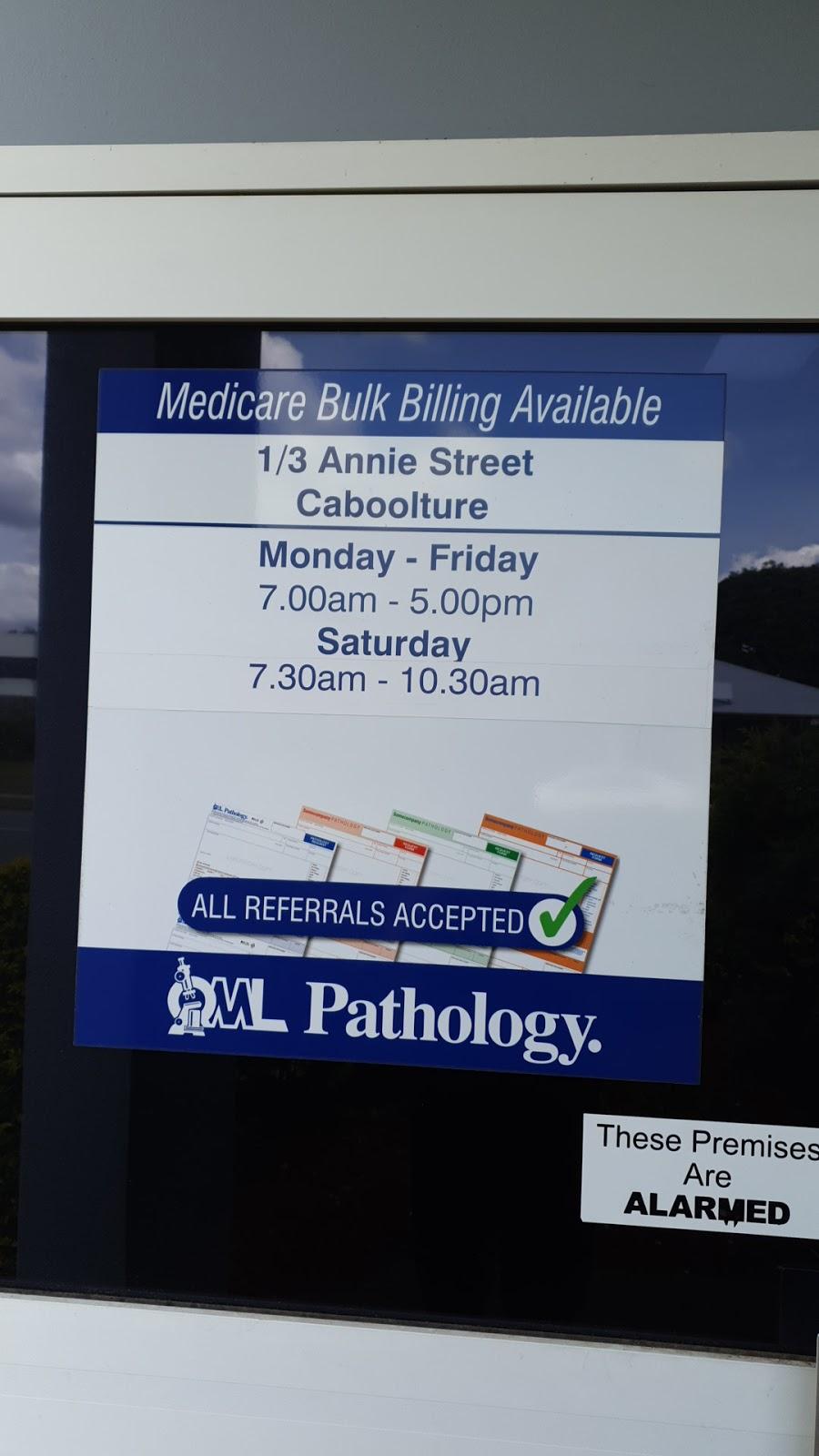 Qml Pathology | health | 1/3 Annie St, Caboolture QLD 4510, Australia | 0754954380 OR +61 7 5495 4380
