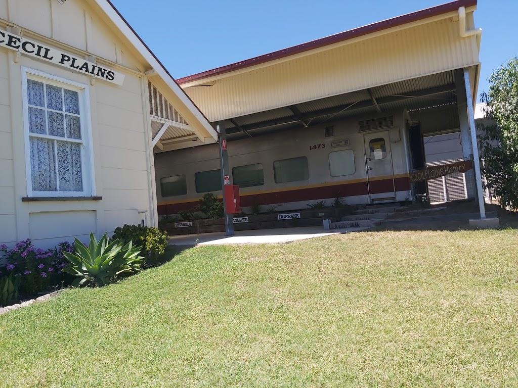 Cecil Plains Railway Historical Society | museum | 40 Taylor St, Cecil Plains QLD 4407, Australia
