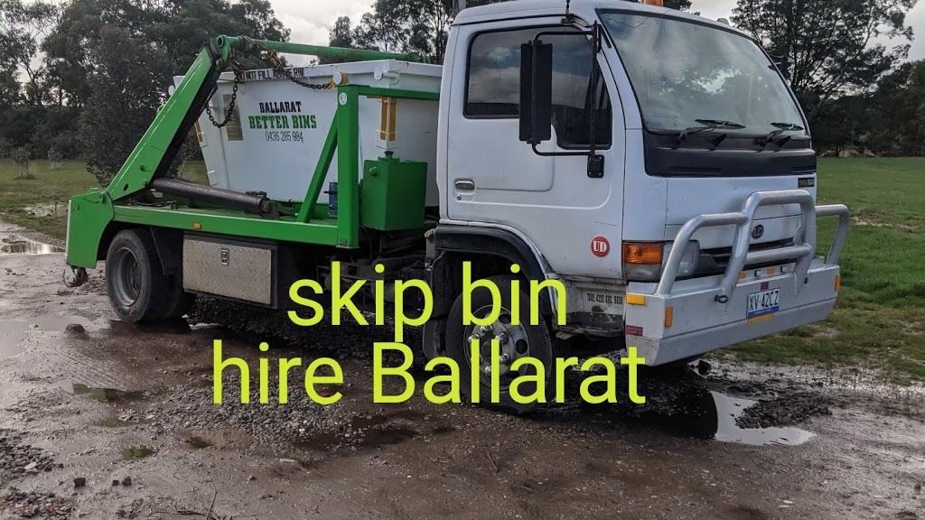 Ballarat Better Bins | point of interest | 220 Browns-Scarsdale Rd, Scarsdale VIC 3351, Australia | 0436285984 OR +61 436 285 984