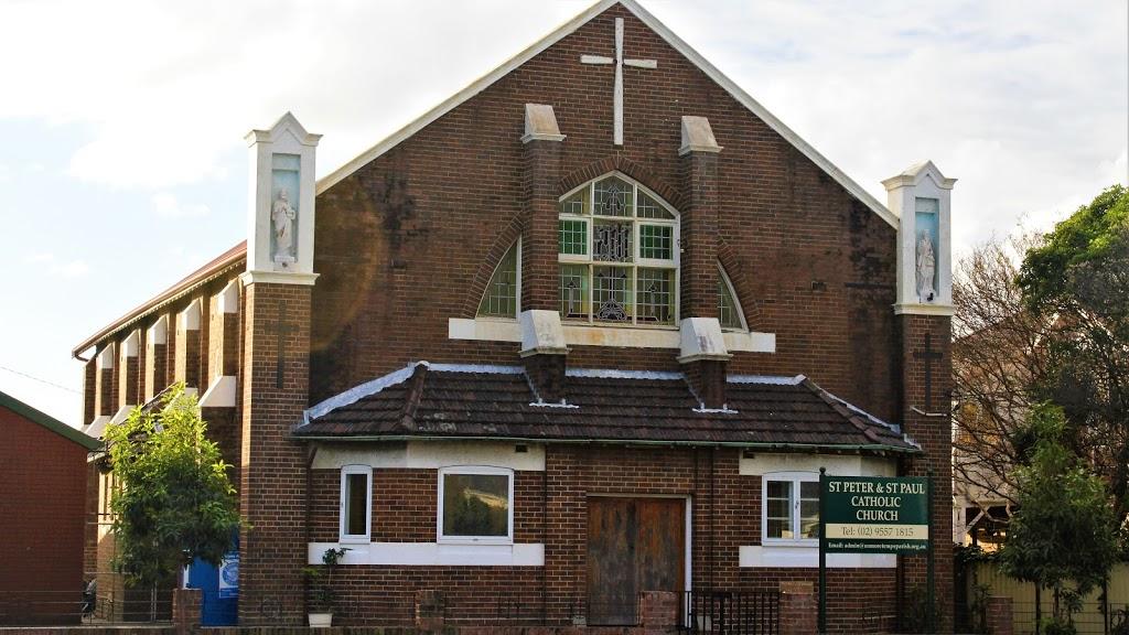 St Peter & St Paul Catholic Church | church | 545 Princes Hwy, Tempe NSW 2044, Australia | 0295571815 OR +61 2 9557 1815