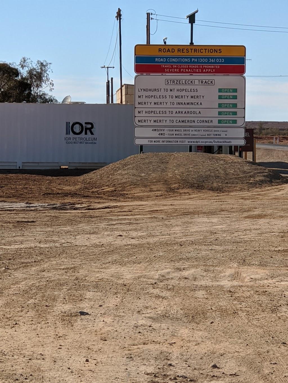 IOR Petroleum Lyndhurst | gas station | 3 Short Street, Lyndhurst SA 5731, Australia | 1300457467 OR +61 1300 457 467