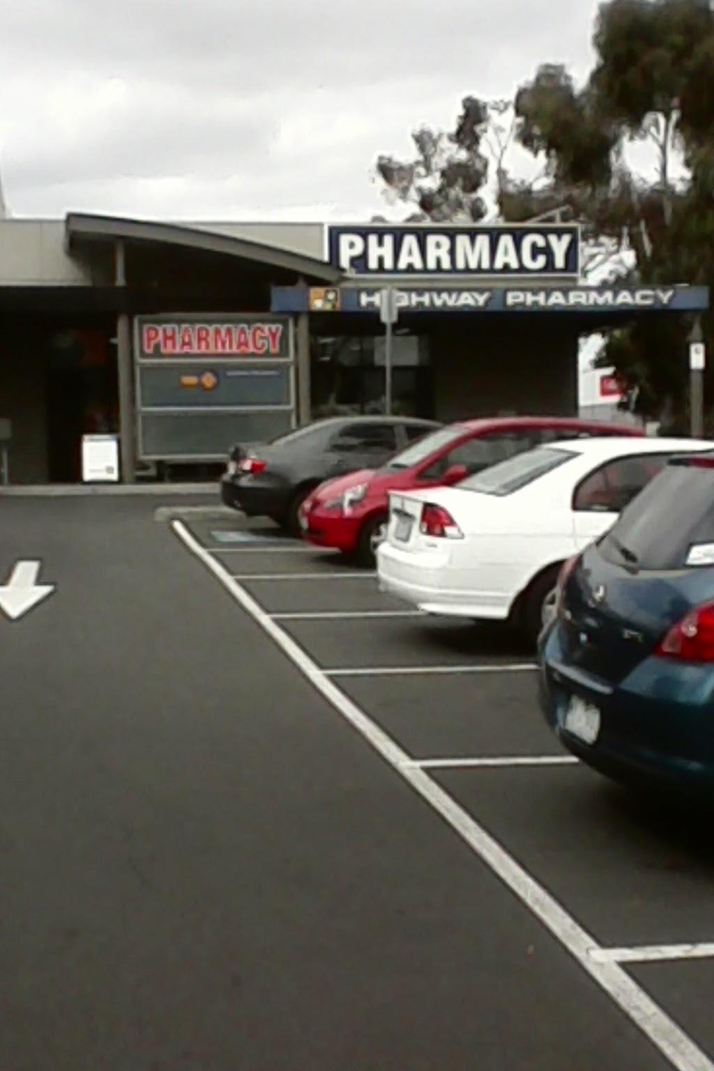 Highway Pharmacy | pharmacy | 825 Princes Hwy, Springvale VIC 3171, Australia | 0395466262 OR +61 3 9546 6262
