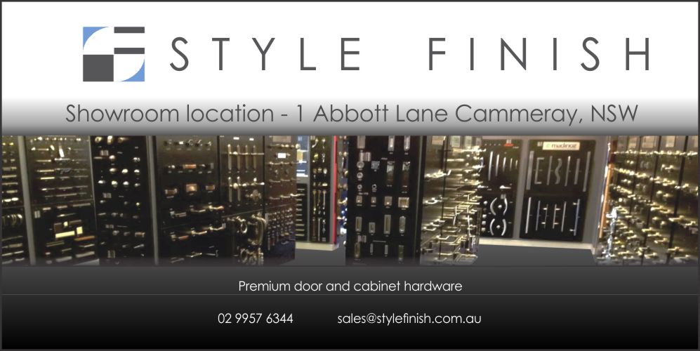 Style Finish | hardware store | Shop/1 Abbott Lane, Cammeray NSW 2062, Australia | 0299576344 OR +61 2 9957 6344