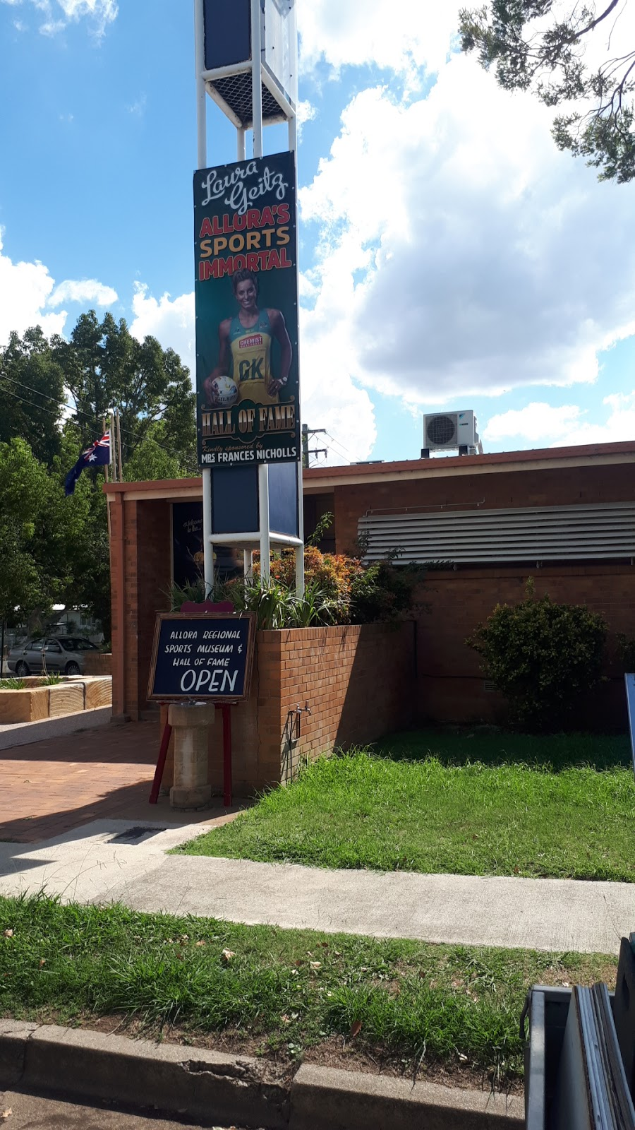 Allora Regional Sports Museum   museum   Allora Office, 78 Herbert St, Allora QLD 4362, Australia   0407034320 OR +61 407 034 320