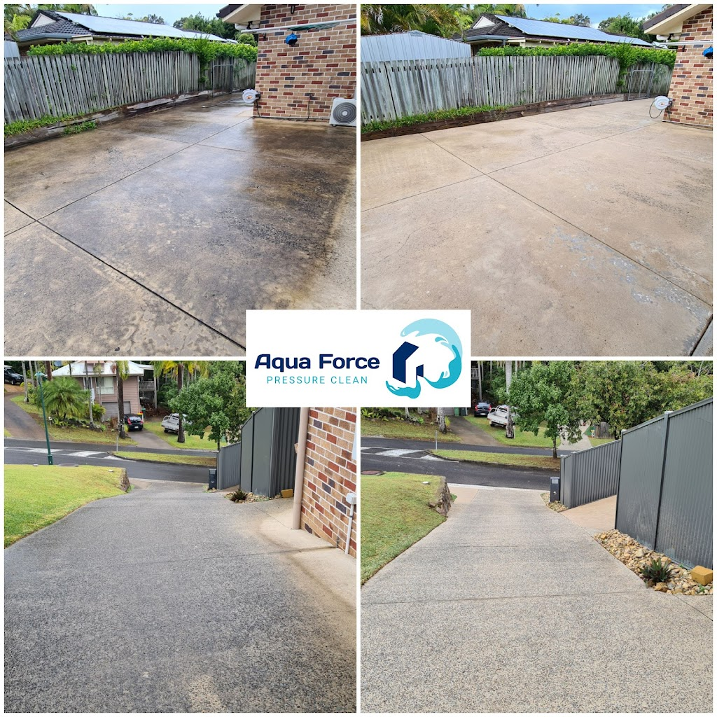 Aqua Force Pressure Clean | point of interest | 52 Countryview St, Woombye QLD 4559, Australia | 0499878000 OR +61 499 878 000