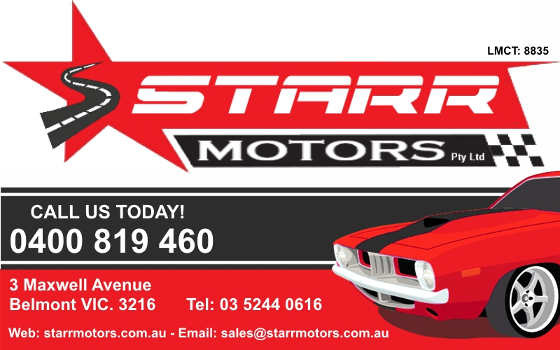 Geelong Starr Motors - Used Cars Geelong | car dealer | 3 Maxwell Ave, Belmont VIC 3216, Australia | 0352440616 OR +61 3 5244 0616