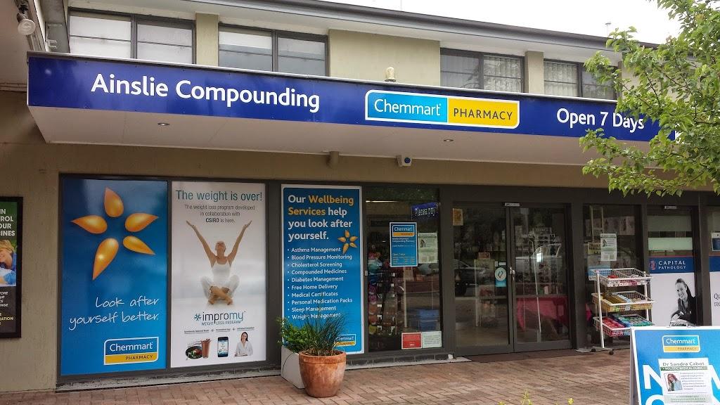 Ainslie TerryWhite Chemmart Compounding Pharmacy | health | 17 Edgar St, Ainslie ACT 2602, Australia | 0262487708 OR +61 2 6248 7708