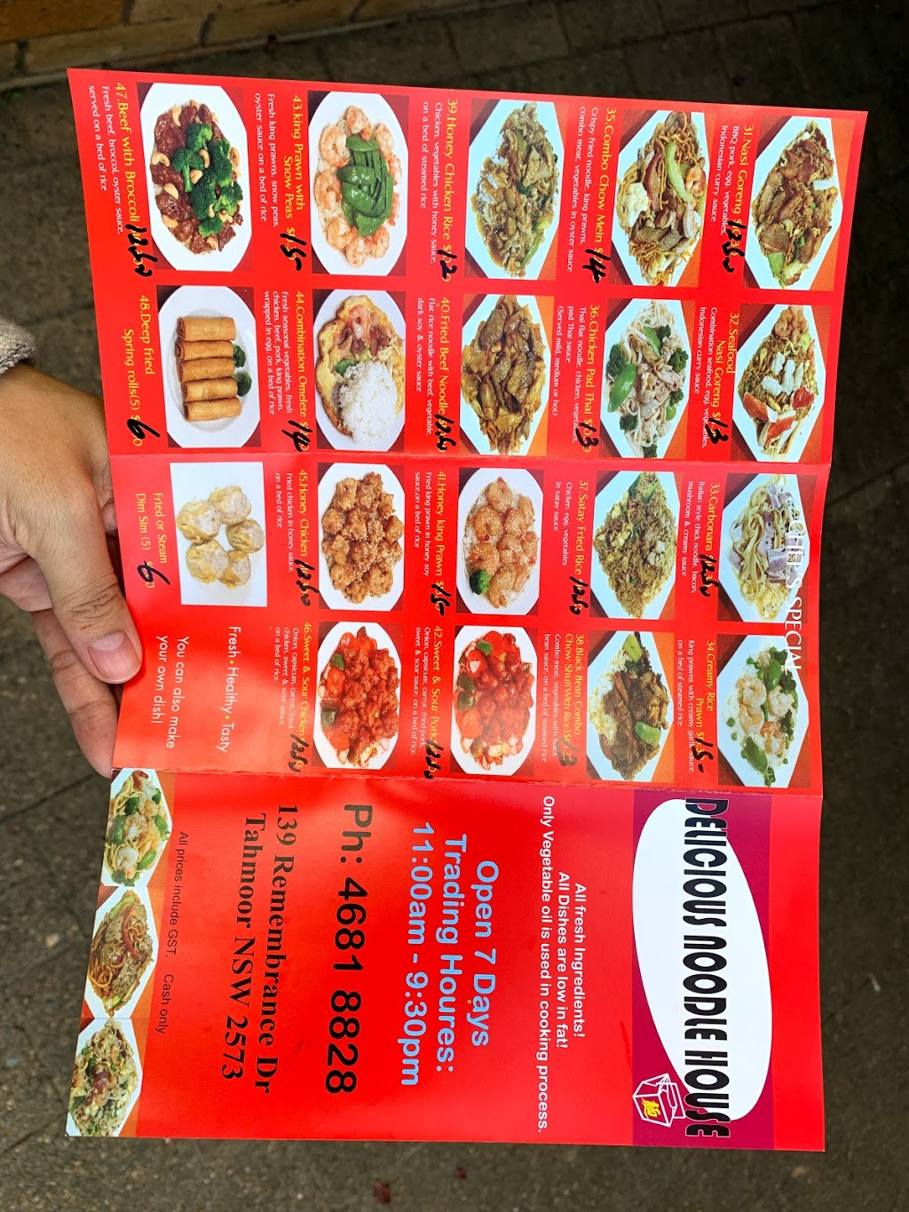 Delicious Noodle House | restaurant | 139 Remembrance Driveway, Tahmoor NSW 2573, Australia | 0246818828 OR +61 2 4681 8828