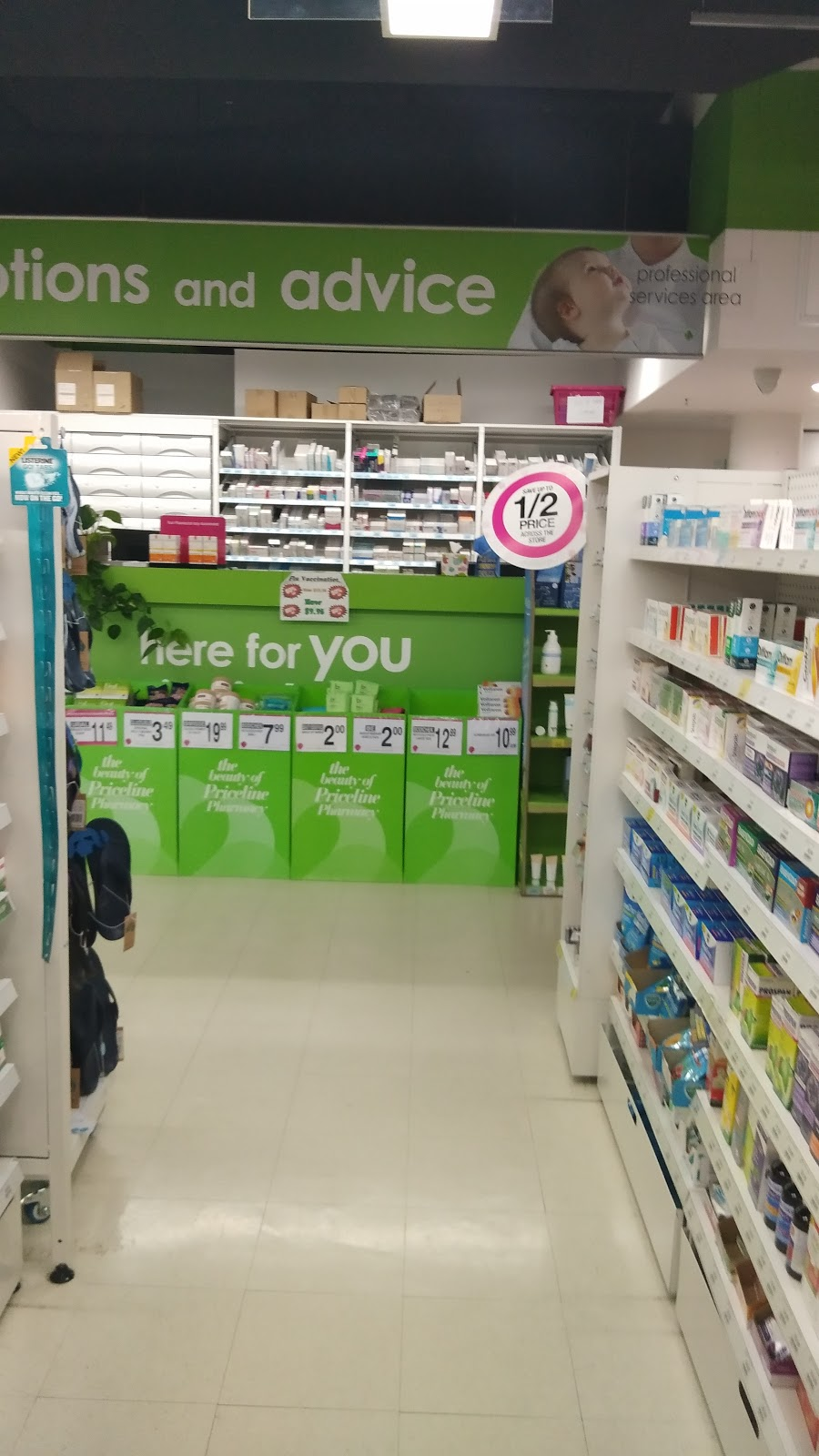Priceline Pharmacy Spring Hill | pharmacy | 365 Turbot Street, Market Place, Spring Hill QLD 4000, Australia | 0738313331 OR +61 7 3831 3331