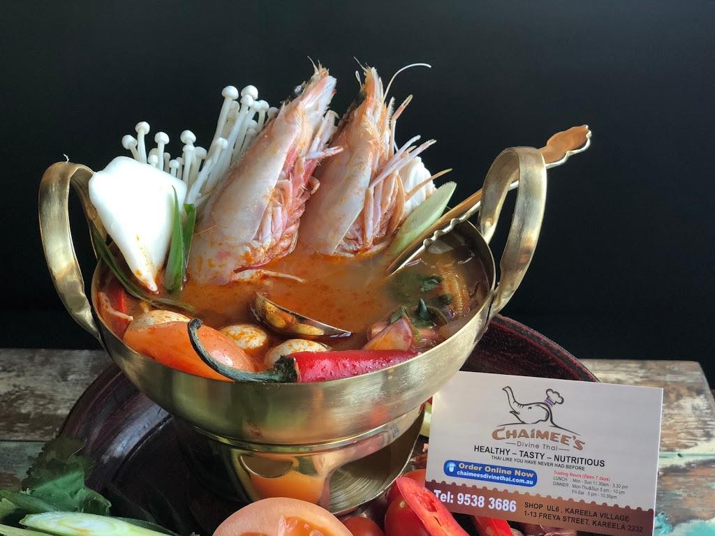 Chaimees Divine Thai Restaurant | restaurant | 1-13 Freya St, Kareela NSW 2232, Australia | 0295283924 OR +61 2 9528 3924