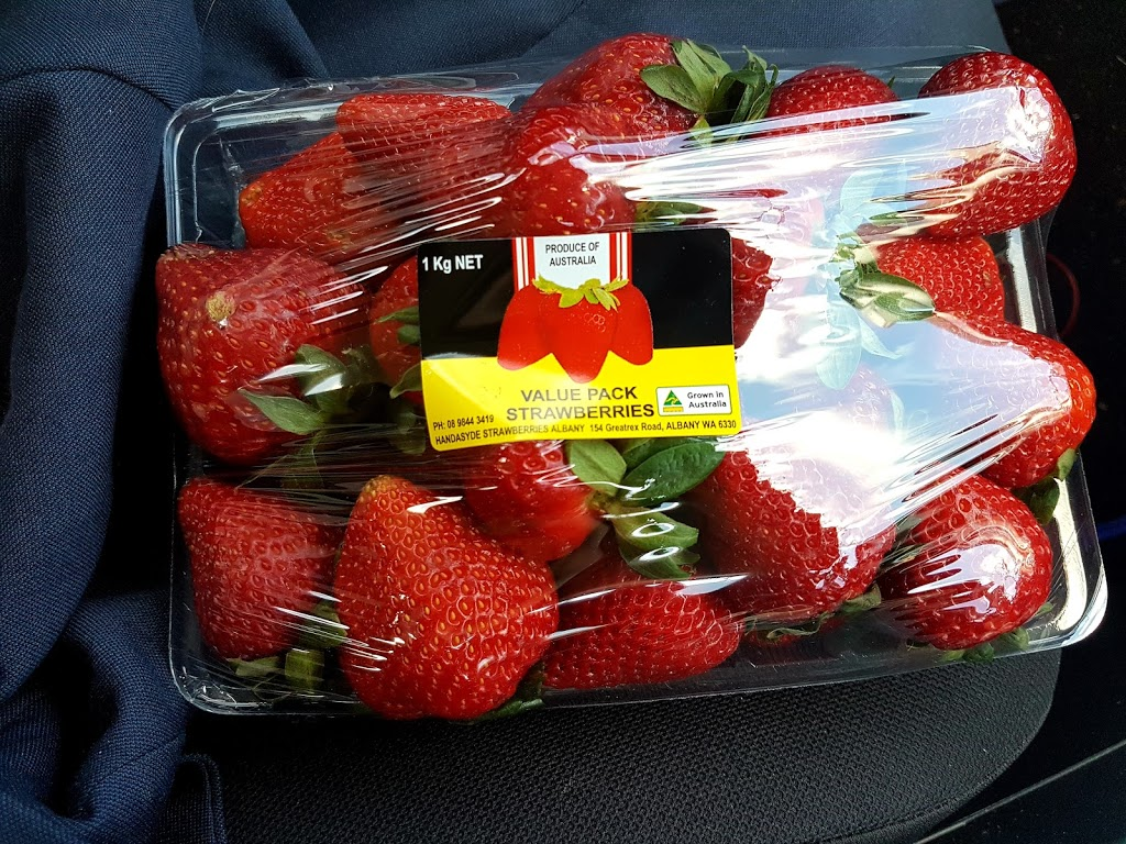 Handasyde Strawberries Albany   cafe   382 Chester Pass Rd, Walmsley WA 6330, Australia   0467443417 OR +61 467 443 417