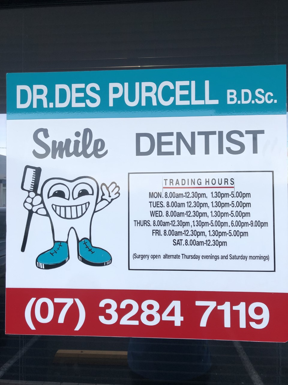 DR. Des Purcell   dentist   The Professional Centre, Suite 5/16 Boardman Rd, Kippa-Ring QLD 4021, Australia   0732847119 OR +61 7 3284 7119