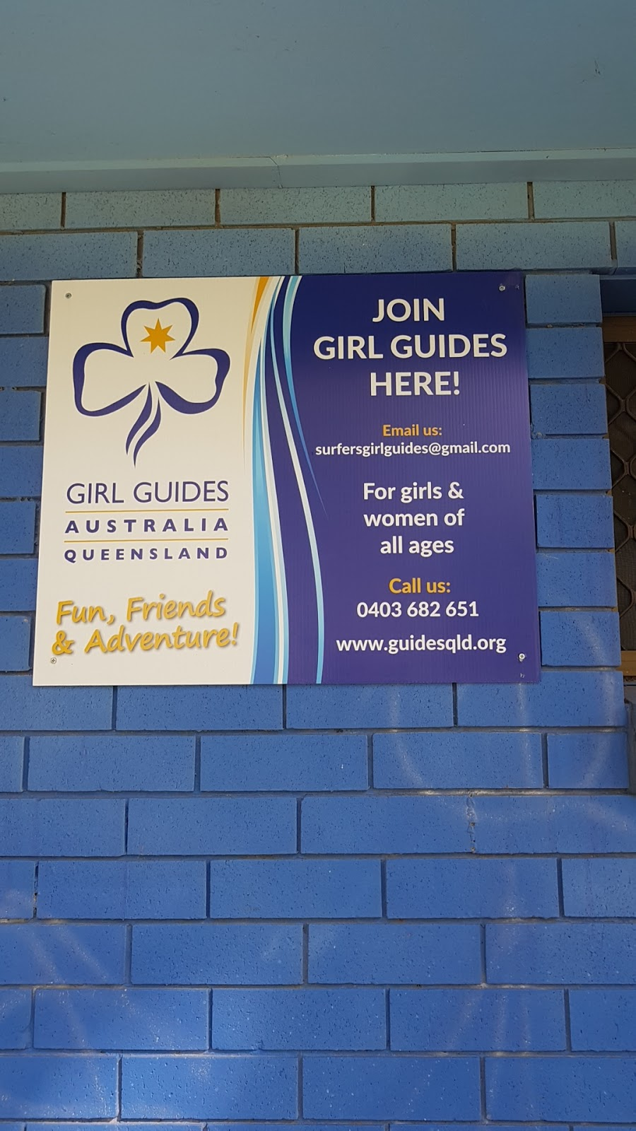 Surfers Paradise Girl Guides | park | 119-127 Ashmore Rd, Benowa QLD 4217, Australia | 0403682651 OR +61 403 682 651