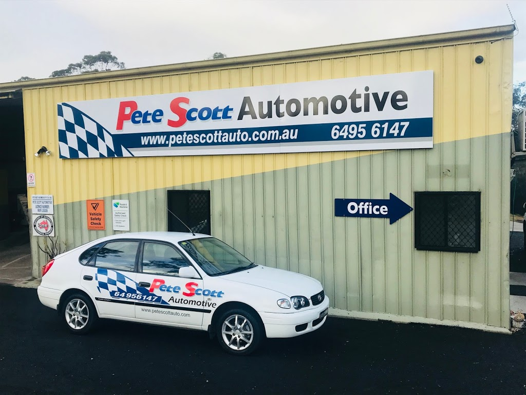 Pete Scott Automotive | car repair | 14 Sir William McKell Dr, Pambula NSW 2549, Australia | 0264956147 OR +61 2 6495 6147